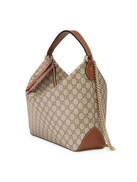87fc2b223731 Gucci GG Supreme canvas hobo #Guccihandbags | Other | Pinterest ...