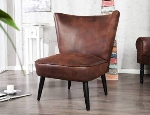 fauteuil donkerblauw