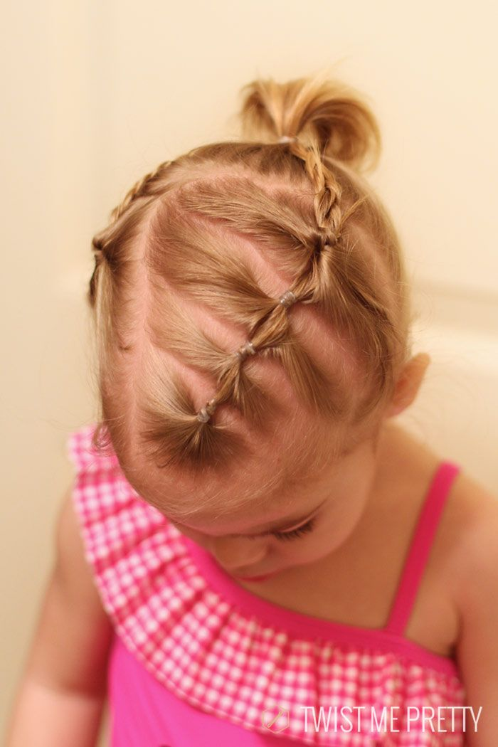 Styles for the wispy haired toddler | Twist Me Pretty
