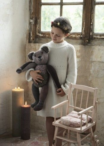 """bear pattern & tutorial (click on the word """"cliquez"""" once you're on the site & right post) love the tunic"""