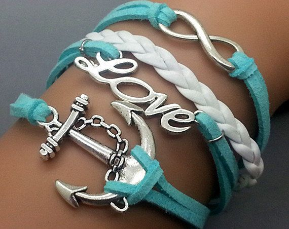 Turquoise + White Bracelet Set Love these bracelets sooo much <3