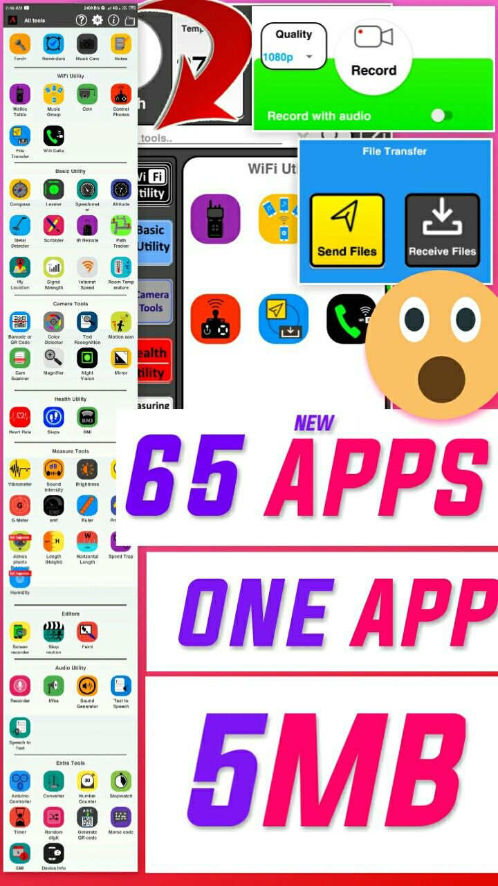 All in app for every Android phone_ sound recorder_ screen