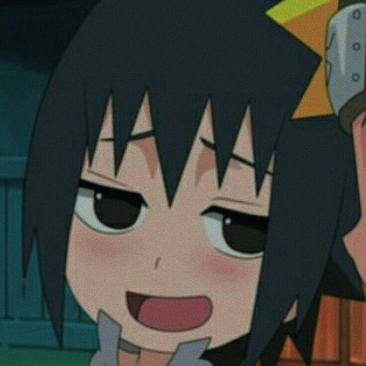 Anime Icons Pastel Aesthetic Naruto Sasuke Soft Cute Edit