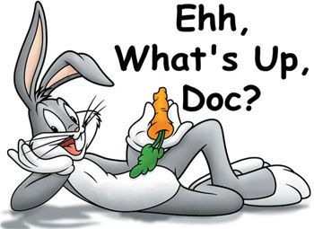 bugs bunny | In the end it's Bugs Bunny who's my favorite bug...