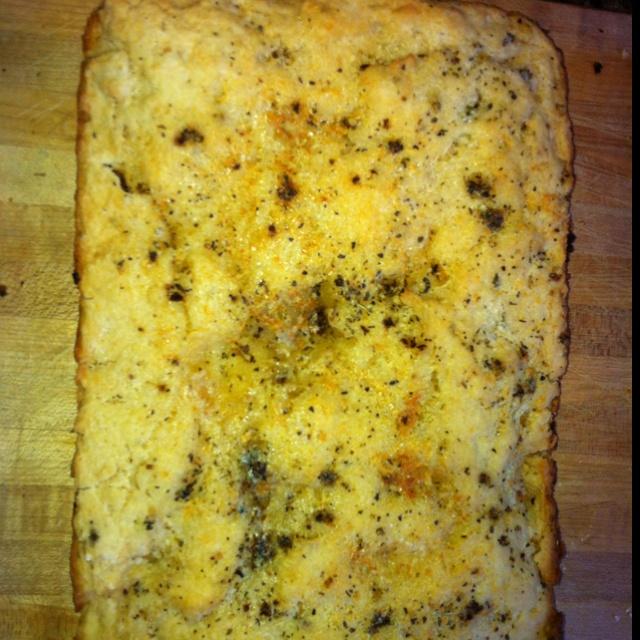 My sister's Cheesy Parmesan Italian Bread