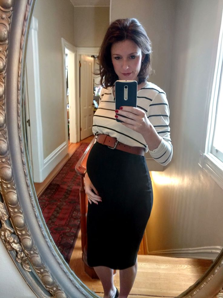 5 Maternity Work Outfit Ideas For 5 Months Pregnant -4628