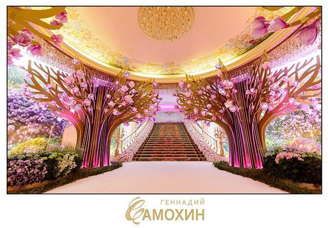 """Оформление-концепция-декорации фойе вэлком """"Сафиса"""" для свадьбы #sarkissalome…"""