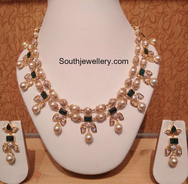 CZ South sea Pearls Necklace