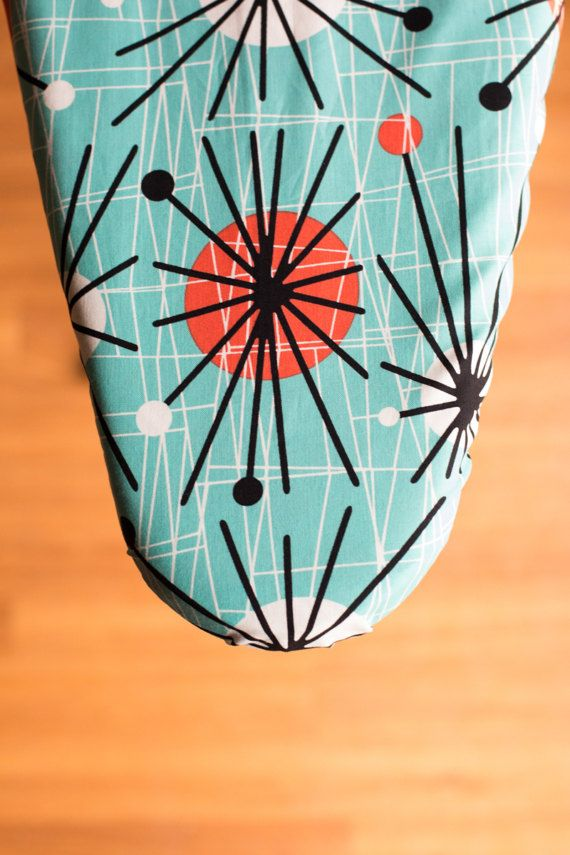 Mid-Century Mod Ironing Board Cover