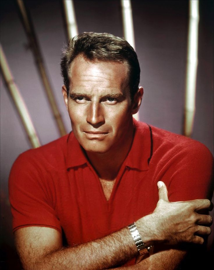 -Charlton Heston..                                                       …