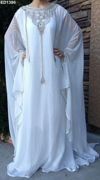 Unglaublicher Entwurf Abaya Langes Kleid caftan von Kunsthandwerkfüralle auf DaWanda.com