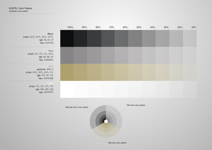 Corporate Identity Hostel_Upstairs_Late Bar_Color Palette_Yianart