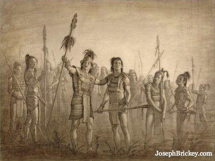 Helaman & His 2000 Stripling Warriors! My favorite story in the Book of Mormon!
