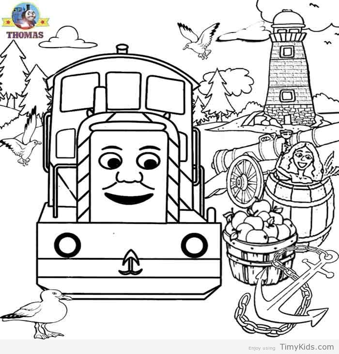 10 best Thomas Coloring Page images on Pinterest | Thomas y sus ...