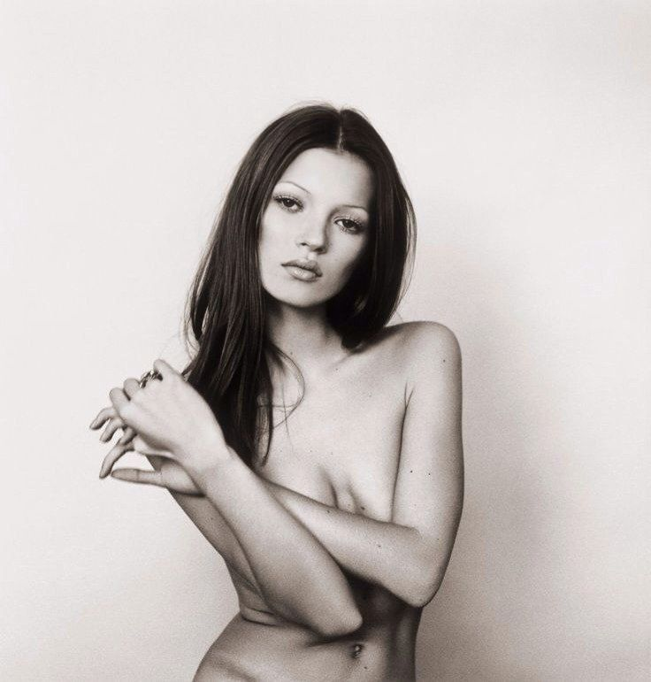 Kate Moss by Michel Haddi 1991 #KateMoss #MichelHaddi