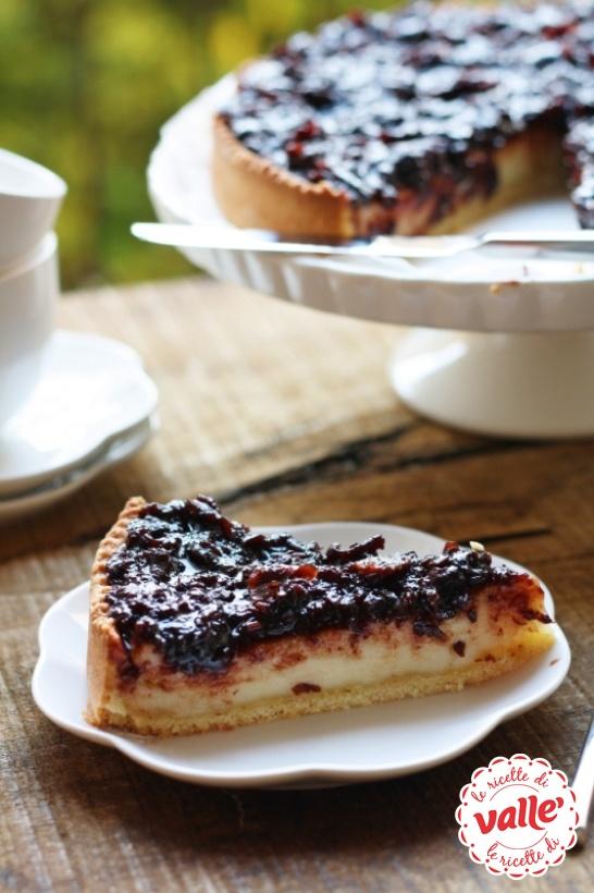 Cheesecake con marmellata di frutti di bosco. Scopri la ricetta...