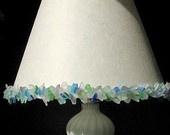 sea glass lamp shade: Lampshades, Sea Glass