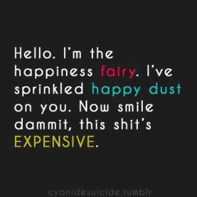 Did you use fairy dust to make someone happy today?