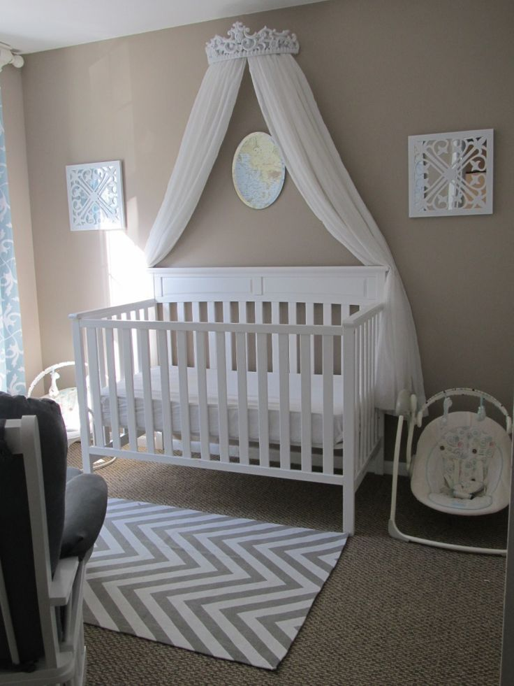 17 Best Ideas About Baby Girl Nursery Themes On Pinterest