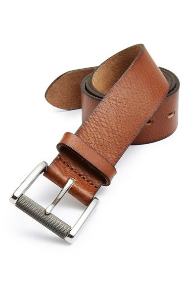 1901 Burnished Edge Leather Belt available at #Nordstrom