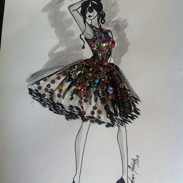 fashion illustration fashion illustrazione