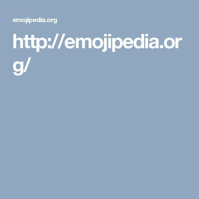 http://emojipedia.org/