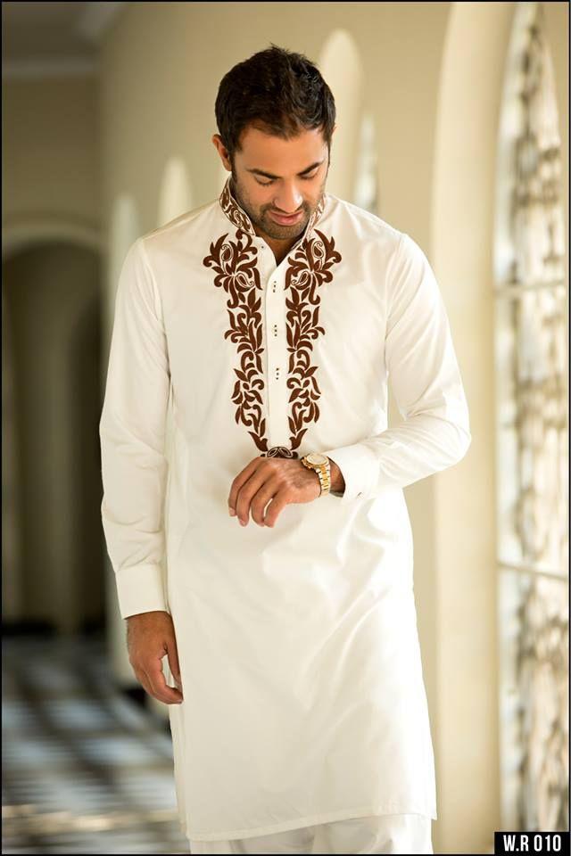 Latest Men Dresses Eid Collection 2015 by Humayun Alamgir
