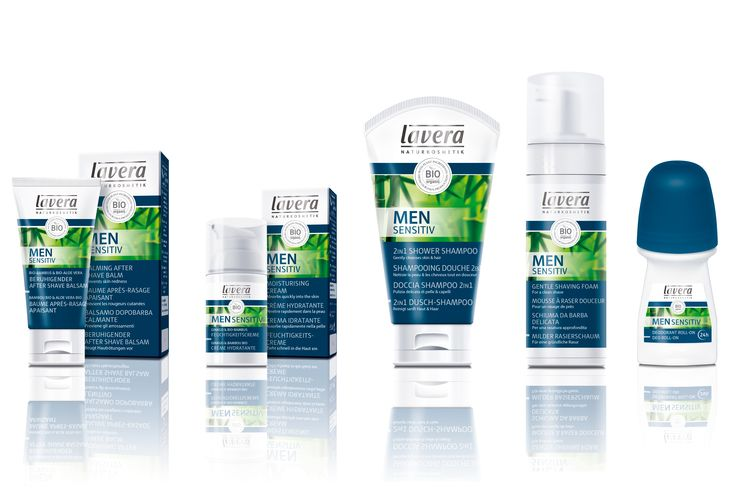 Why not treat your dad to something from lavera's Men Sensitiv range. 100% natural and organic for the modern man.