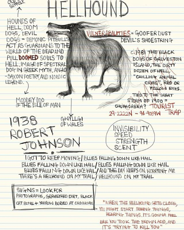 Our hellhound page!