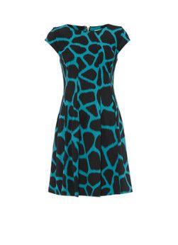 Michael Kors A-lijn jurk met giraffeprint