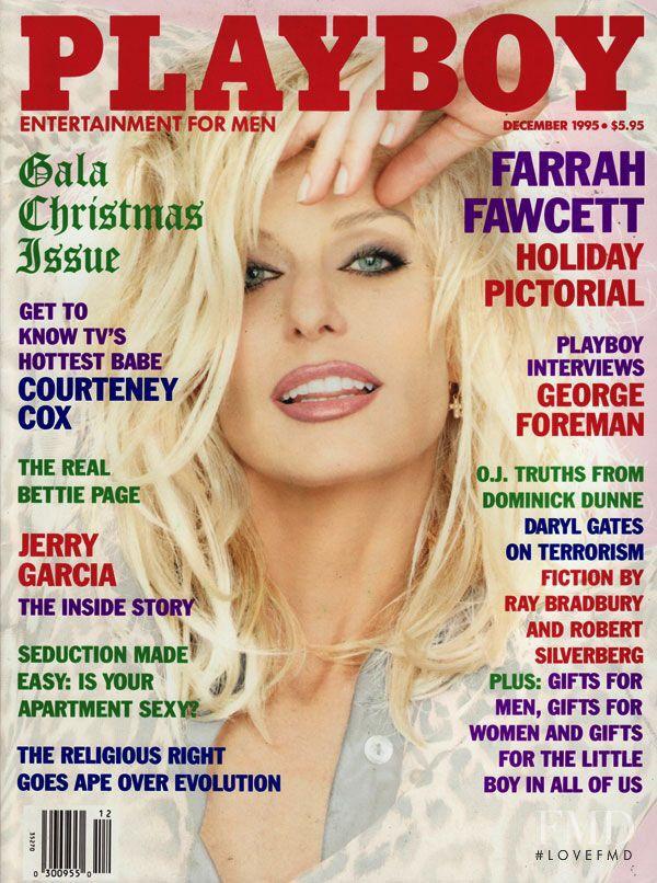 PLAYBOY December 1995 | Farrah Fawcett Cover |