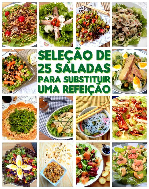 25 receitas de saladas e complementos para substituir uma refeição