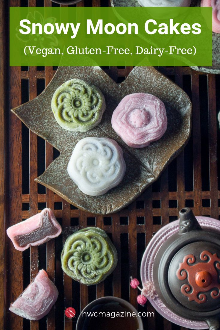 Over the Moon for Homemade Snowy Moon Cakes