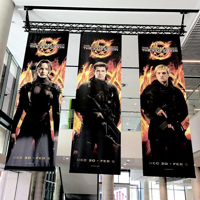 The Hunger Games Exhibition opened today in Sydney, Australia and will run until February 5th! Are any of you planning on going?