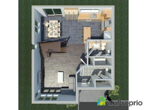 Maison neuve à vendre St-Nicolas, , rue de lu0027Étoile, secteur Roc - Logiciel Pour Dessiner Plan Maison Gratuit