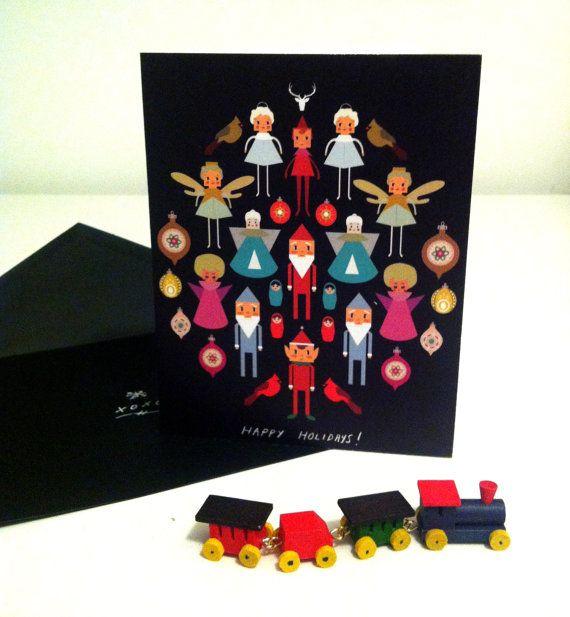 Illustrated Christmas Cards - Alysha Dawn