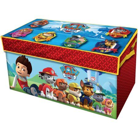 Paw Patrol Oversized Soft Collapsible Storage Toy Trunk- walmart