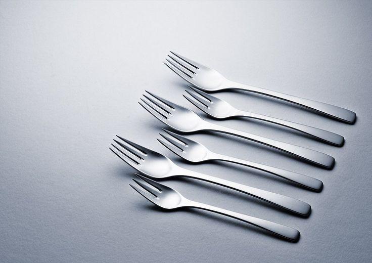 Set of several forks (2 sizes)  - Martins Ribeiro