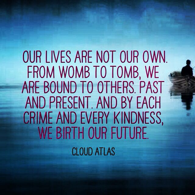Cloud Atlas*** I love this movie!