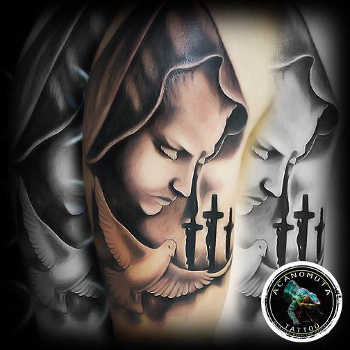 Realistic Tattoo...For those I lost. Ιδανικη επιλογη για ανδρικο μανικι απο το Acanomuta tattoo studio στην Αθηνα