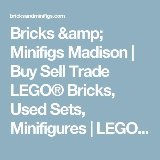 Bricks & Minifigs Madison | Buy Sell Trade LEGO® Bricks, Used Sets, Minifigures | LEGO® Resale Store