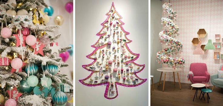 collage retro pastels kerst 2015 trends