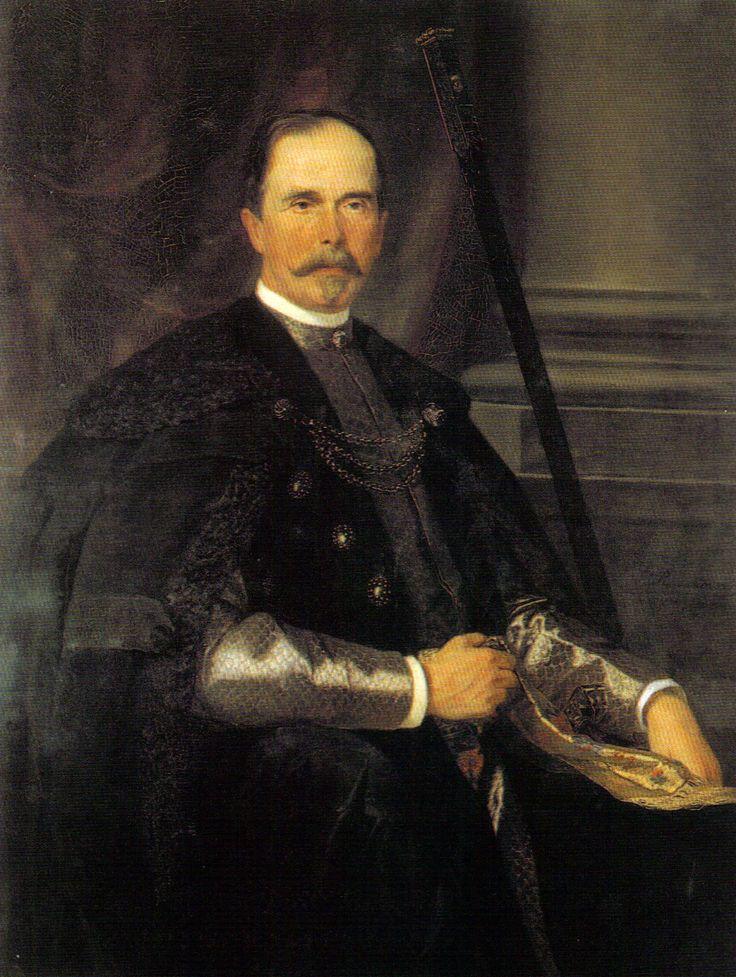 Marszałek Jan D. Tarnowski 1889