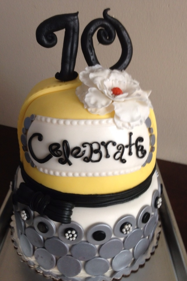 26 Best Images About 70th Birthday Cake Ideas On Pinterest