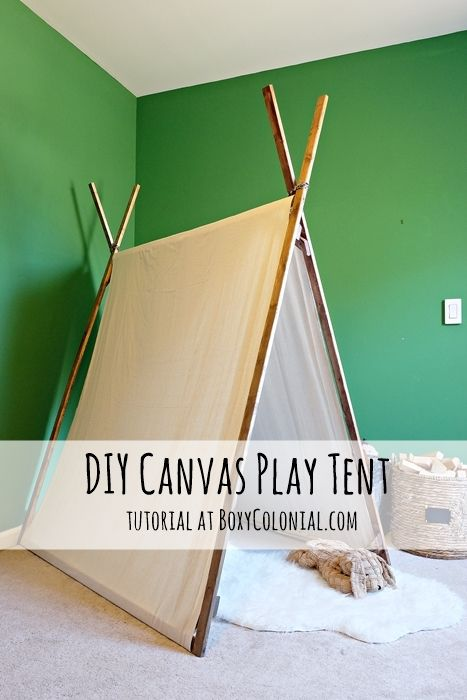 107766 best images about blogger home projects we love on for Build your own canvas tent
