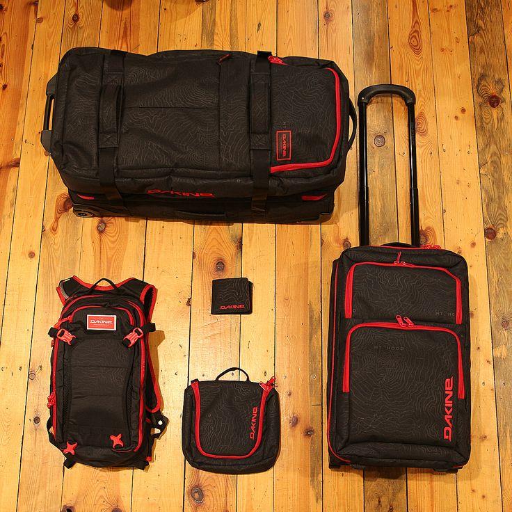 Chystáte se na cesty, máme pro Vás inspiraci pro tento týden. Pánksé batohy, tašky a kufry od DAKINE. #dakine #swisshop #swis #eshoping #trevel #traveler #bag