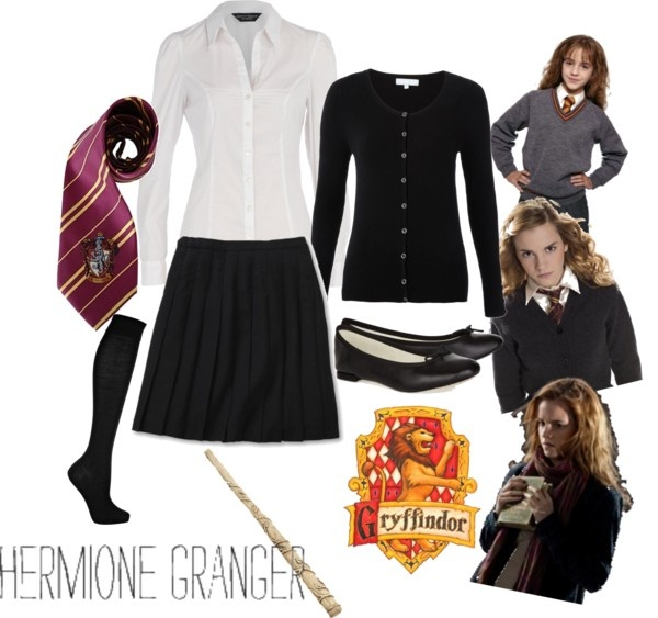 Hogwarts Uniform  Gryffindor  Hermione Granger  May the nerd be with you  Harry potter