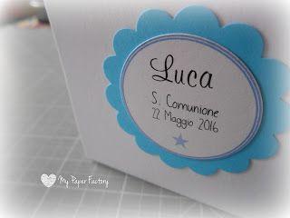 My Paper Factory: Segnaposti Prima Comunione!!!