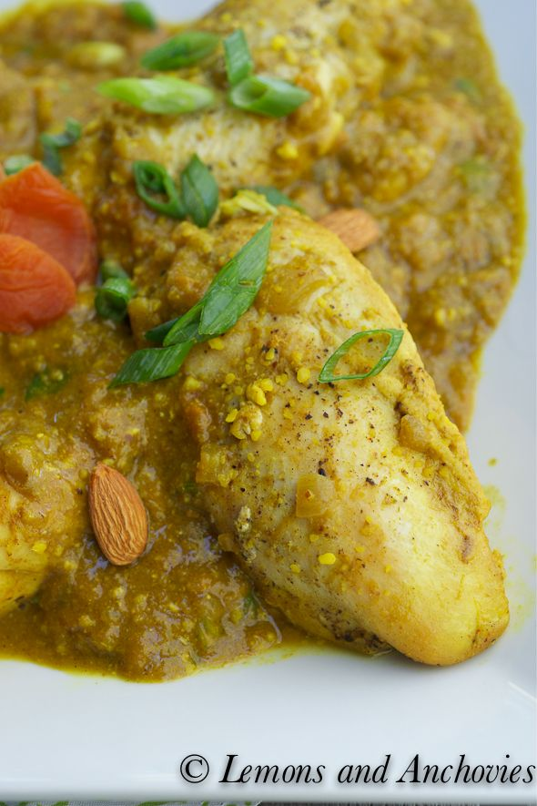 Chicken Almond Curry with Apricots-2 | Meals | Pinterest | Curries ...