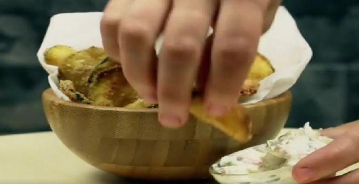 Des chips aux courgettes... 100% plaisir - zéro culpabilité